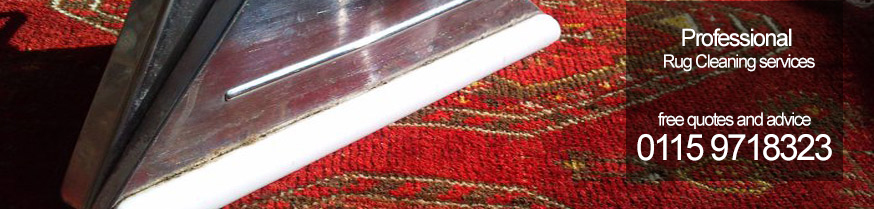 Rug cleaning in Nottingham by expert rug cleaners